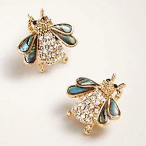 NWT Ann Taylor Bee Earrings